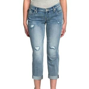 Rock & Republic Distressed Indee Cotton Jeans